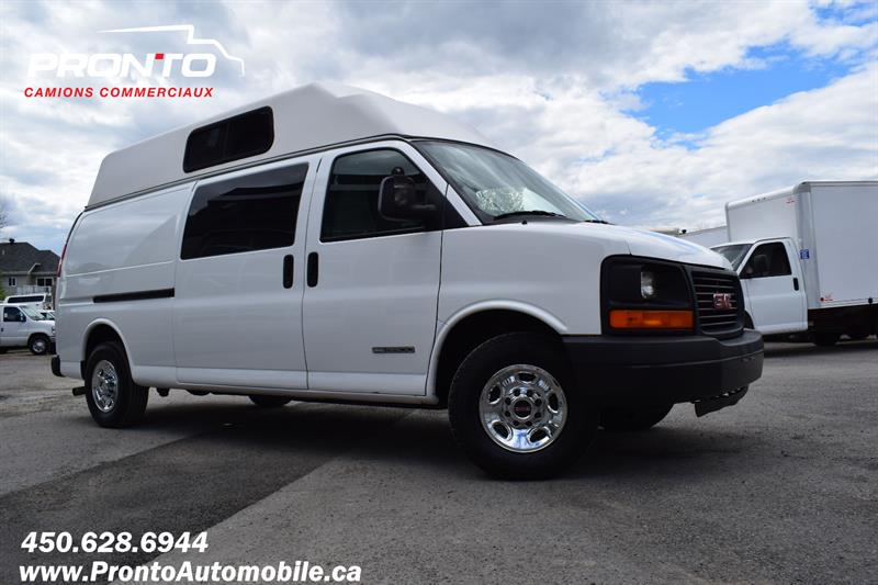 GMC Savana Cargo Van 2004 3500 **  Toit Surélevé Allongé ** Impeccable ** #1877