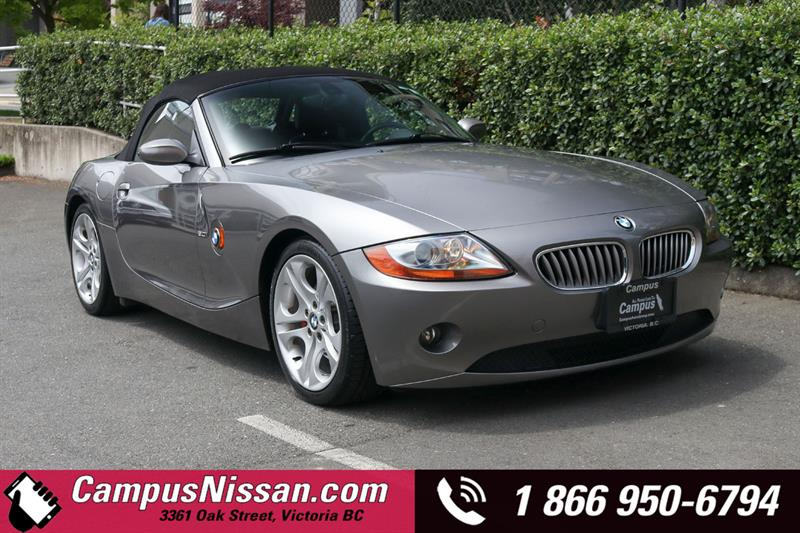 2004 BMW Z4 | 3.0i | Roadster | RWD w/ Leather Seats #JN3158B