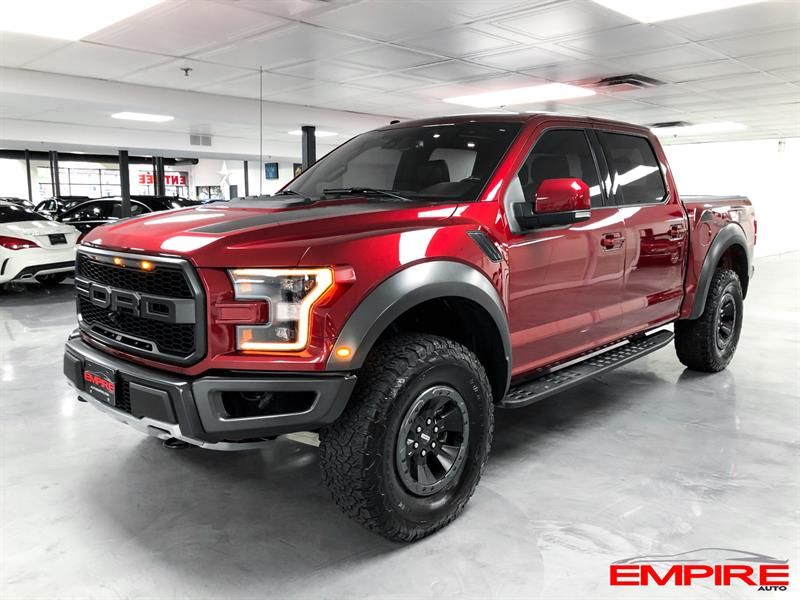 Ford F150 2018 RAPTOR CREW TECH 802A #A7153