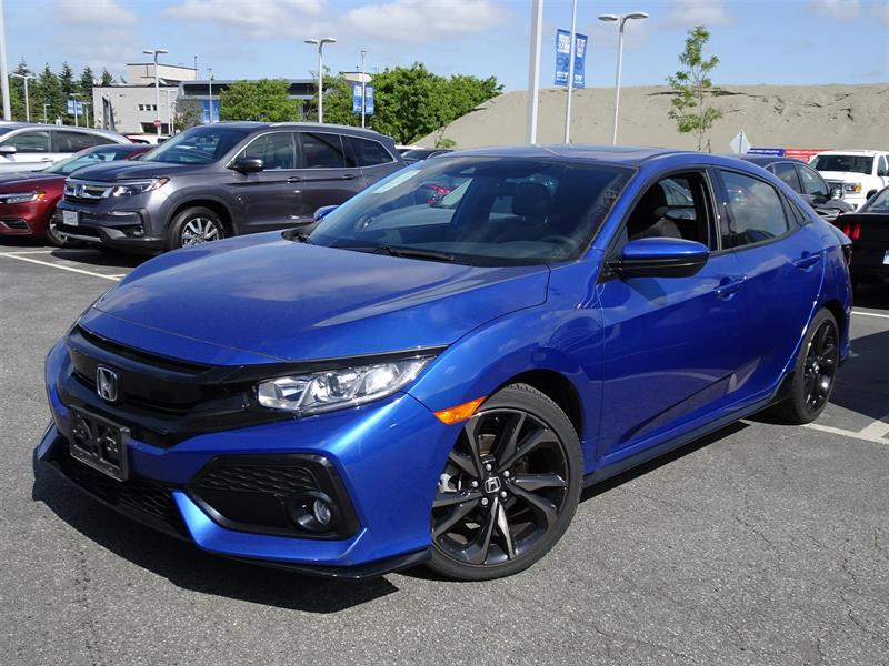 2018 Honda Civic Hatchback Sport HS CVT. Balance of Factory Warrant #LH8817