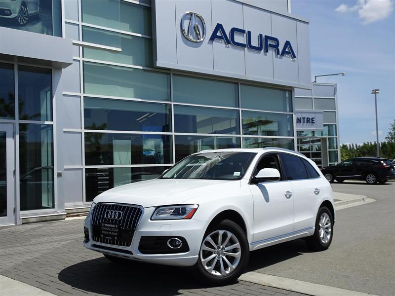 2017 Audi Q5 Komfort Quattro|Local Car|One Owner|No Accidents #P6217A