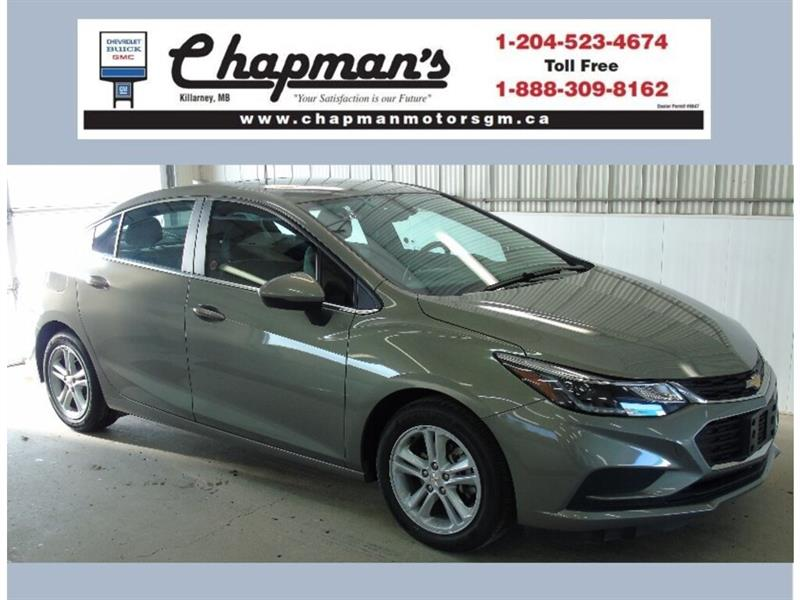 2018 Chevrolet Cruze LT, Sunroof, USB, Bluetooth, Heated Seats #K-021A