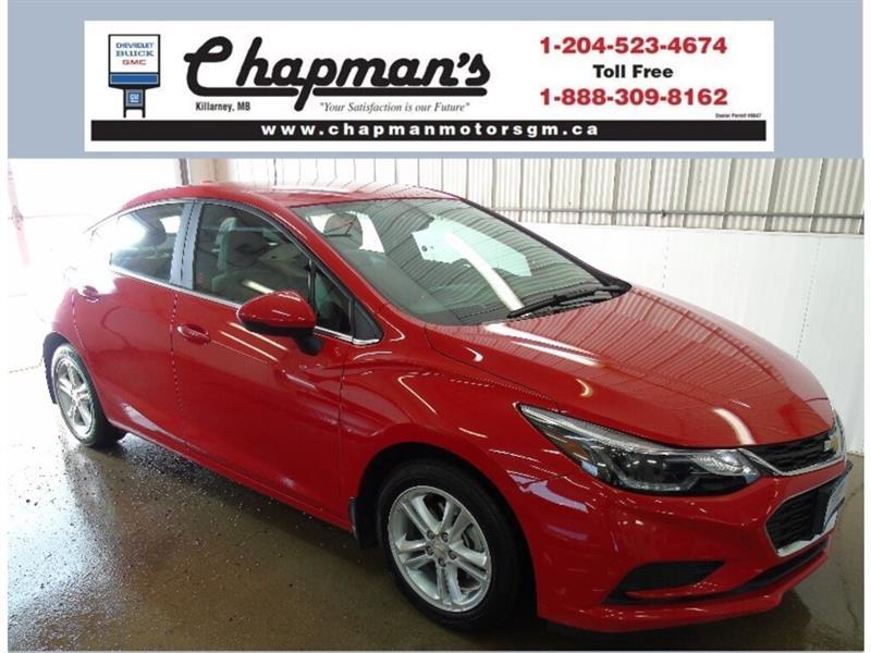 2016 Chevrolet Cruze LT, Bluetooth, USB, Heated Seats, Rear View Camera #K-023A