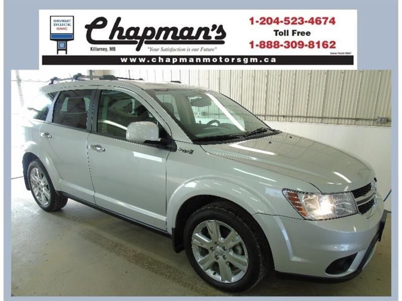 2014 Dodge Journey R/T AWD, Leather, DVD, Navigation #19-012A