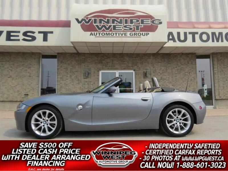 2008 BMW Z4 3.0i PWR TOP, HTD SEATS, BUS AUDIO, CLEAN! #WCON175