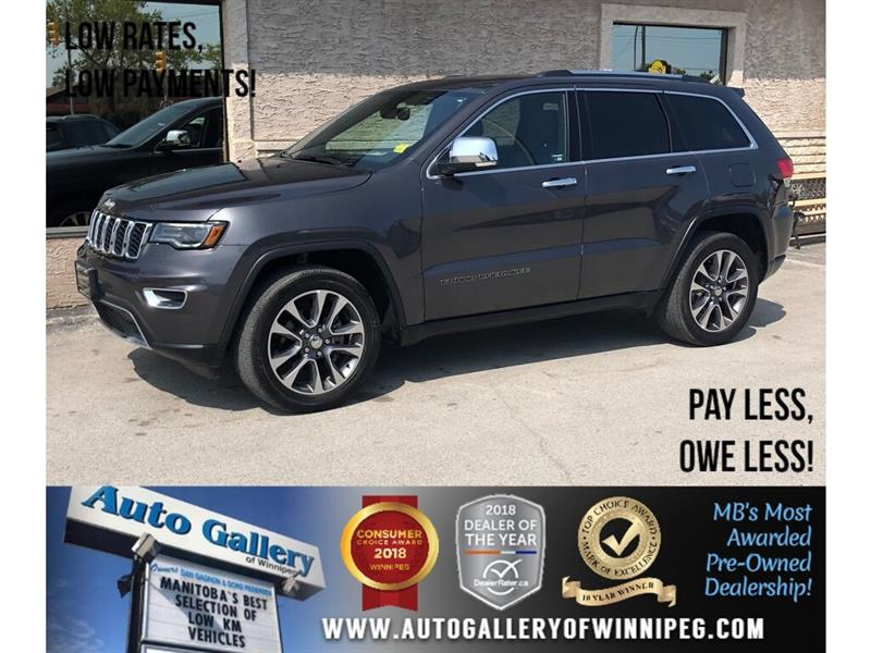 2018 Jeep Grand Cherokee Limited *AWD/Htd Lthr/Pano Roof/Navi/V6 #23923