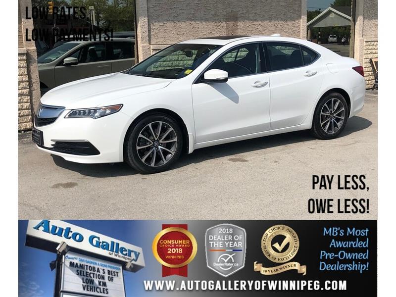 2016 Acura TLX 2016 Acura TLX *AWD/Lthr/V6/Roof #23941