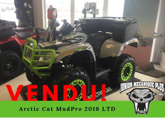 Arctic Cat Mud Pro 2018