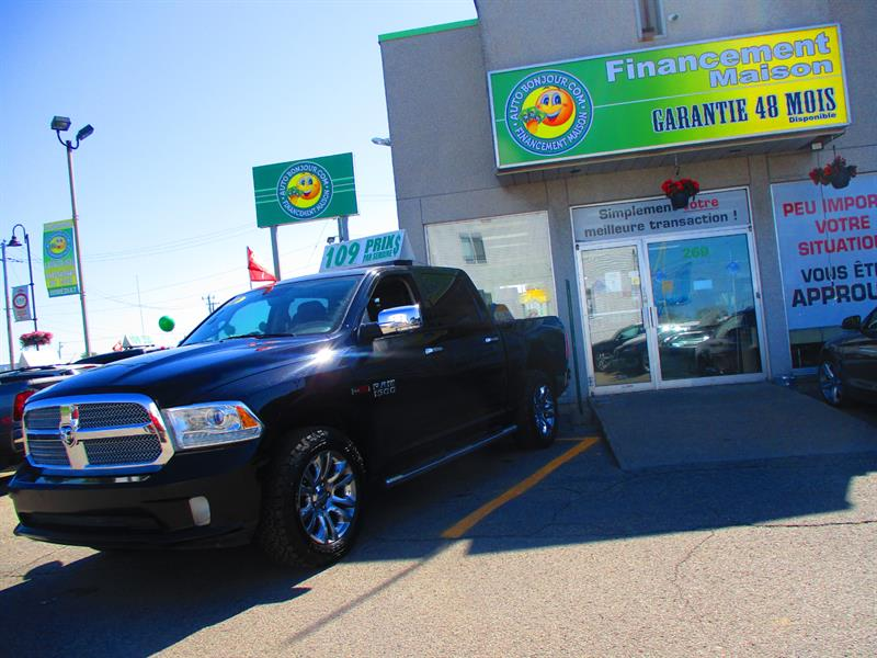 2015 Ram 1500 4WD ECODIESEL Crew Cab 140.5 Laramie Limited #19-051