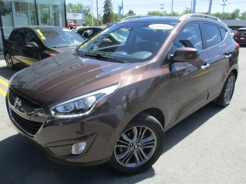 Hyundai Tucson 2014 GLS DÉMAR DISTANCE,TOIT PANO,MAGS+ #A-2863