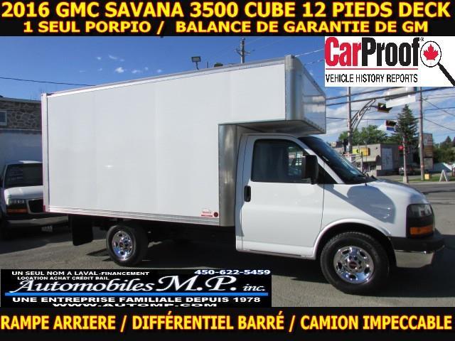 GMC Savana 3500 2016