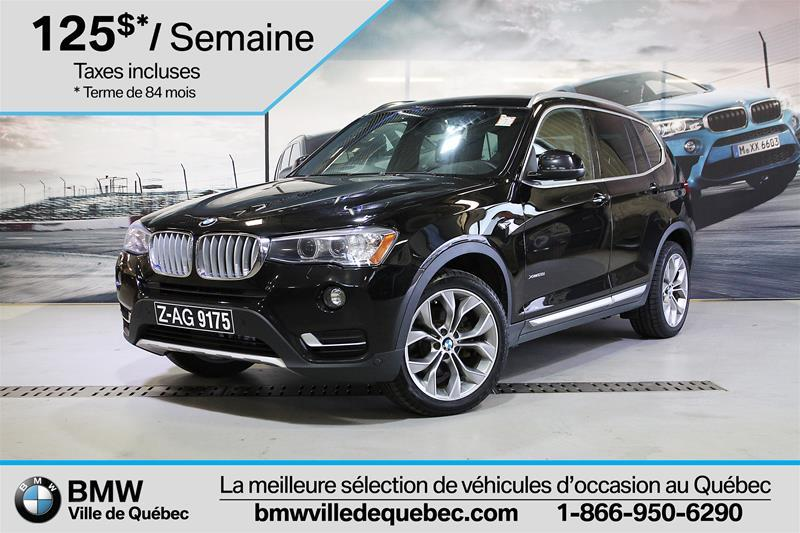 BMW X3 2017 xDrive28i #U5381