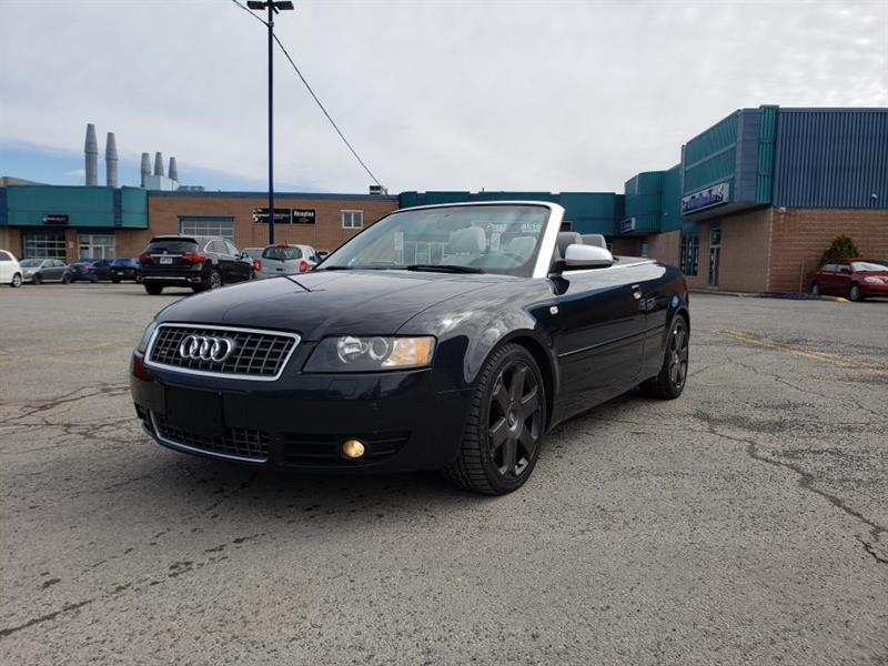 Audi S4 2005 CABRIOLET******4.2 LITRES******