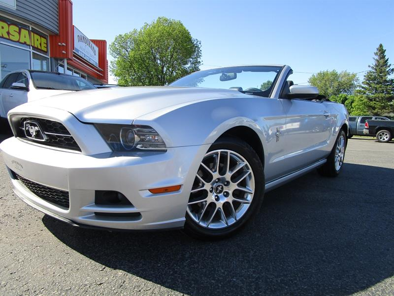 2013 Ford Mustang 2dr Conv V6 Premium #2397b