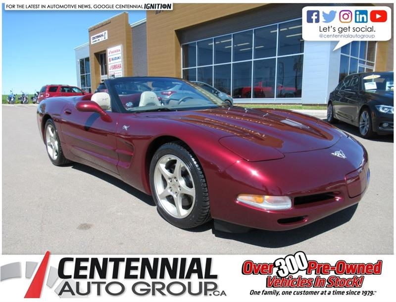 2003 Chevrolet Corvette Convertible | 50th Anniversary Edition #U809