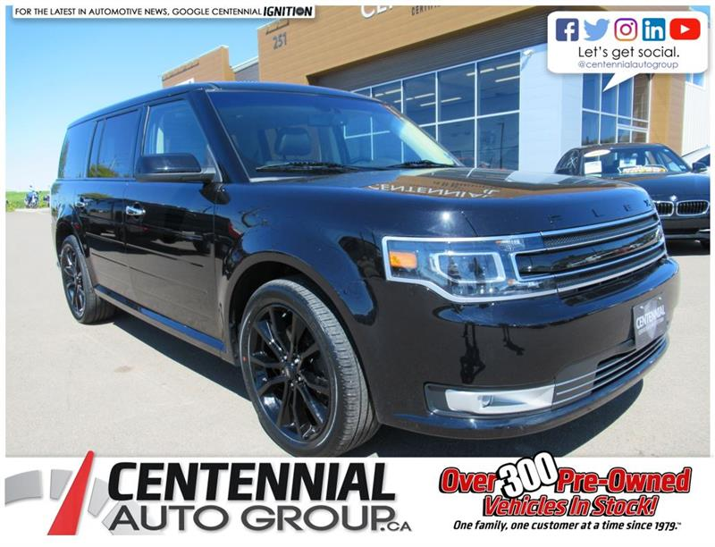 2019 Ford Flex Limited AWD | Leather | Nav | 7 Passenger #U805