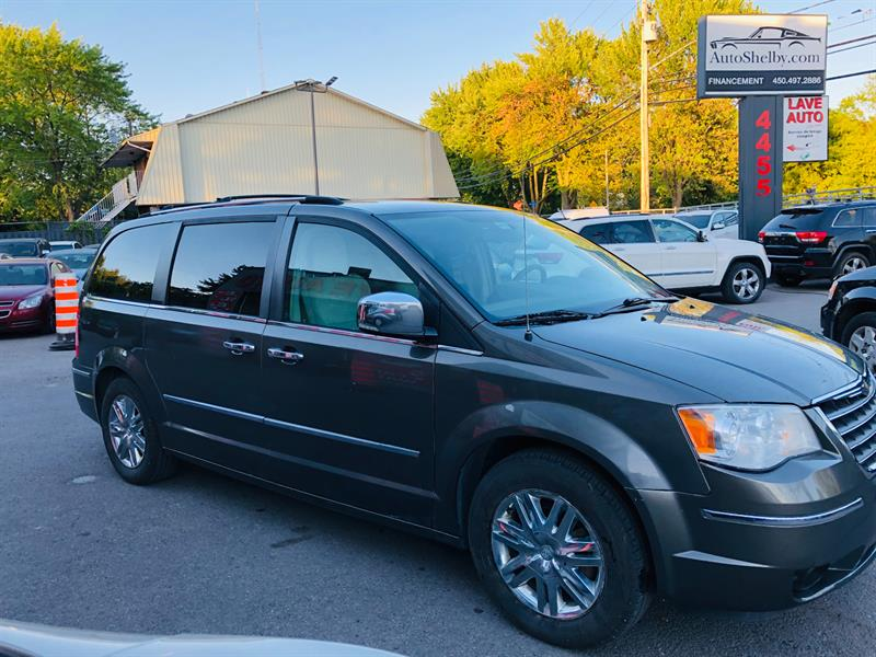 Chrysler Town - Country 2010 Limited-7 Passagers-Cuir-Camera-Toit-Mags #5677