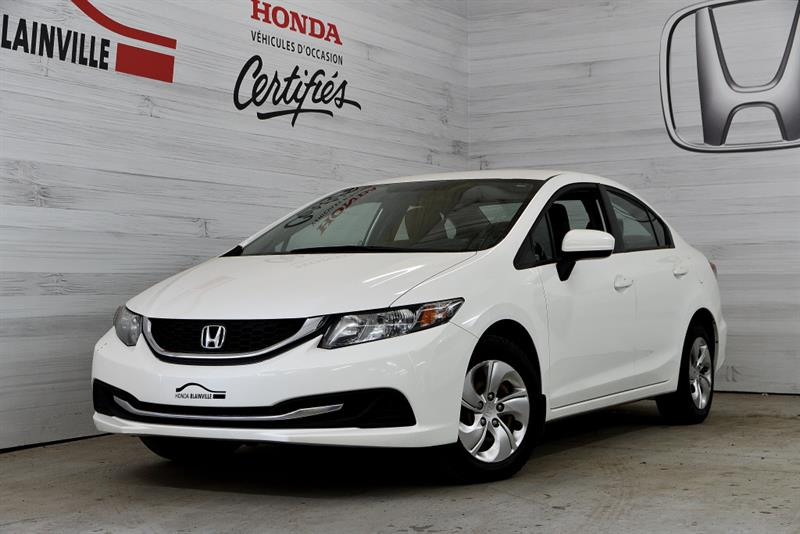 Honda Civic Berline 2014 LX #U-1778