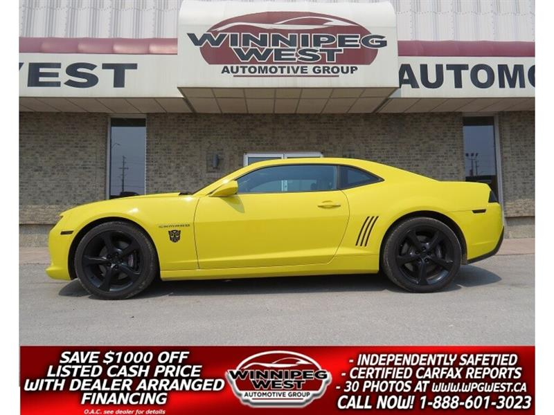 2015 Chevrolet Camaro 2SS 426HP 6 SP, TRANSFORMER YELLOW, LOADED, MODS #W4945