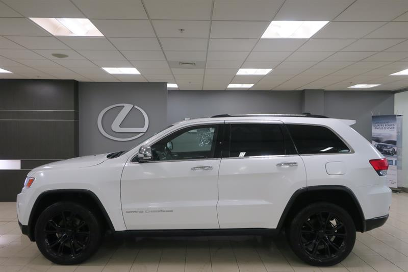 Jeep Grand Cherokee 2015 LIMITED AWD CUIR GPS #15290B