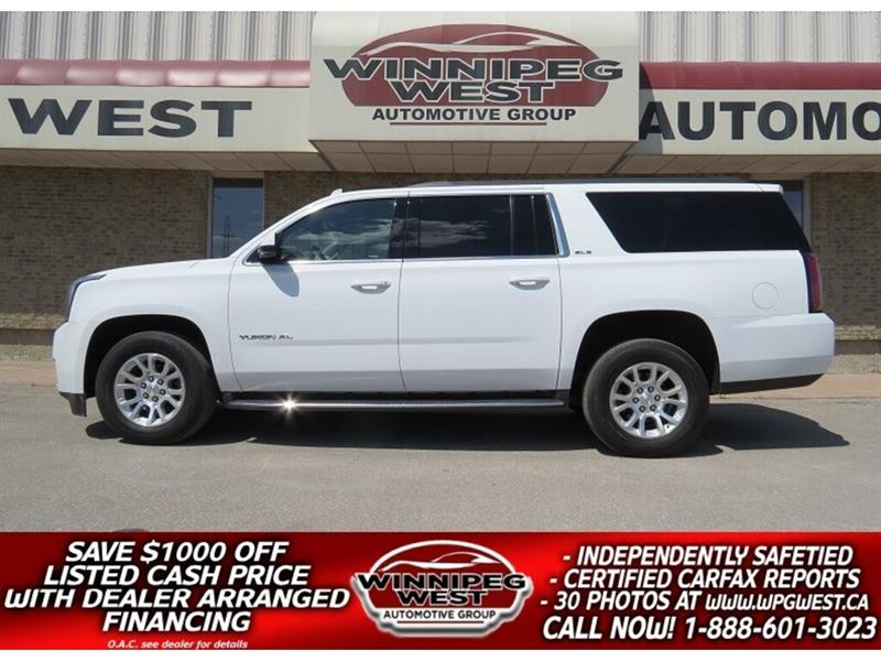 2016 GMC Yukon XL SLE 8 PASS 4X4, LOADED, WIFI, BLUETOOTH, CLEAN!! #GNW5081
