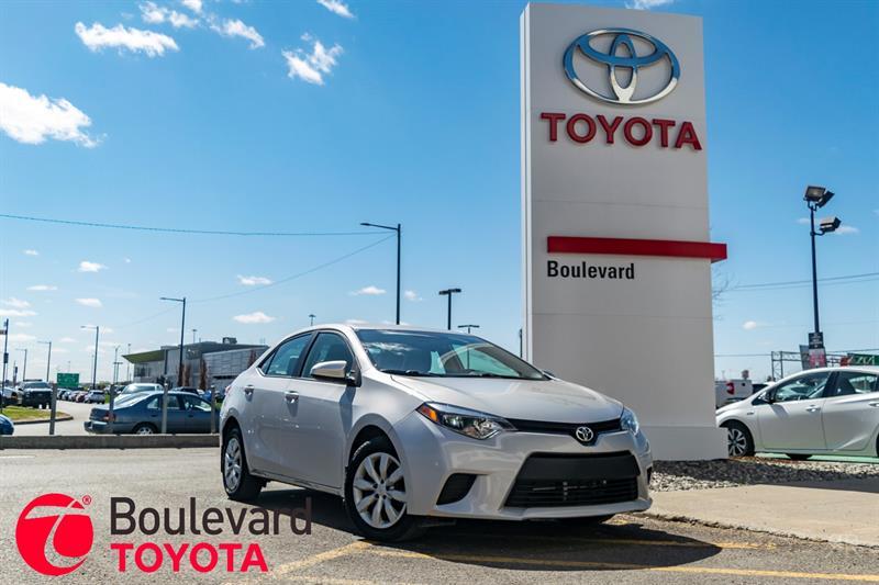 Toyota Corolla 2014 * LE * #530138