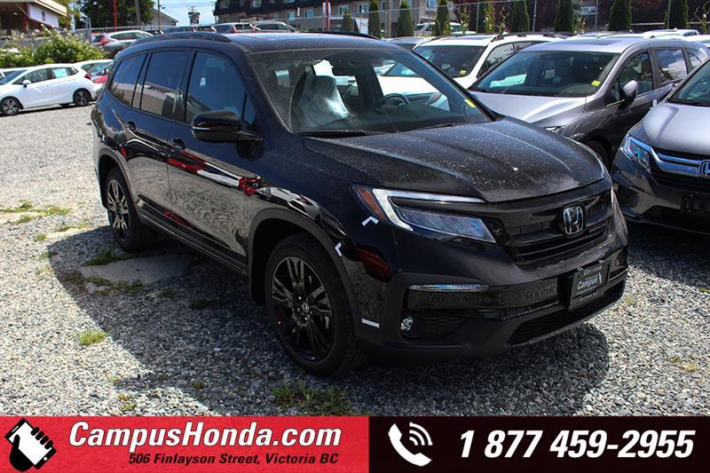 2019 Honda Pilot Black Edition #19-0755