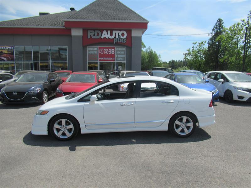 Honda Civic Sdn 2008 LX SR+ TOIT  OUVRANT #10482