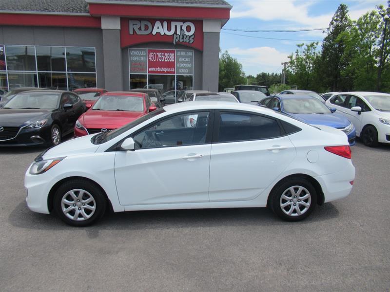 Hyundai Accent 2012 4dr Sdn #10548