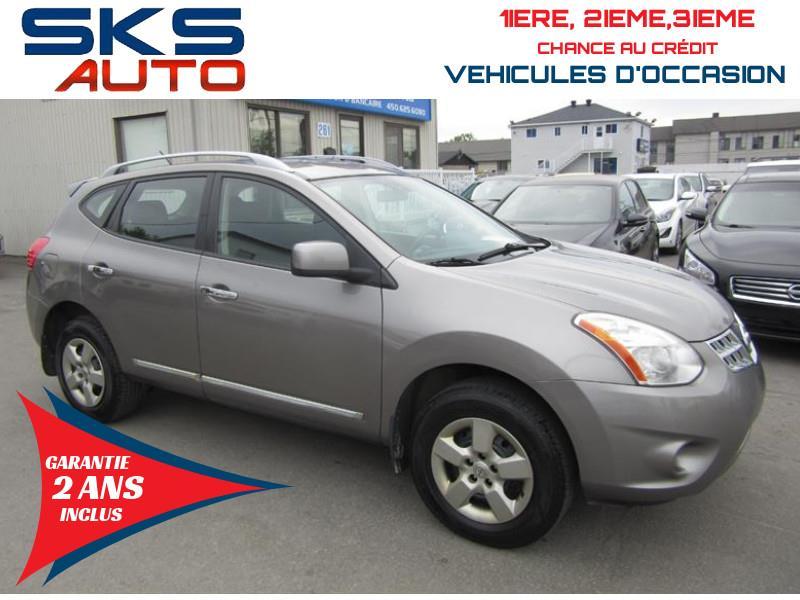 Nissan Rogue 2011 AWD (GARANTIE 2 ANS INCLUS) FINANCEMENT MAISON #SKS-4413