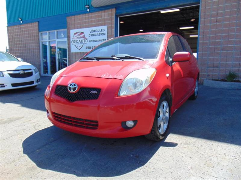 Toyota Yaris 2007 Hayon 3 portes, boîte manuelle, RS