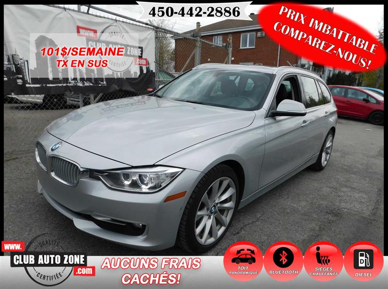 BMW 3 Series 2014 328D TOURING DIESEL XDRIVE TOIT PANORAMIQUE #EKT33162