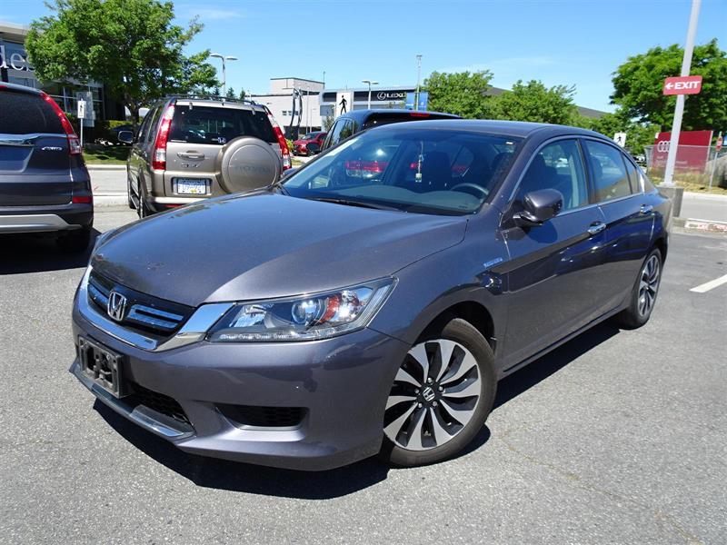 2015 Honda Accord Sedan CVT. Honda Certified Extended Warranty to 16 #LH8852