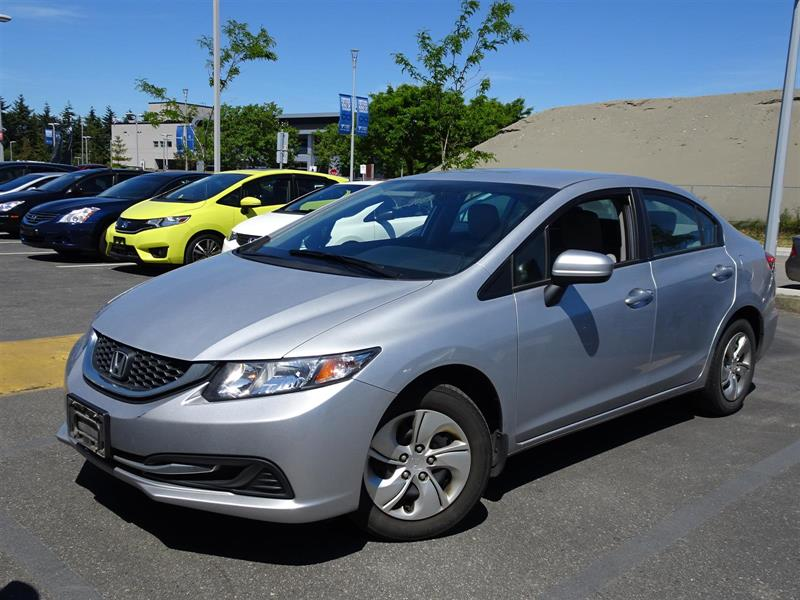 2015 Honda Civic Sedan LX CVT. Honda Certified Extended Warranty to #LH8859