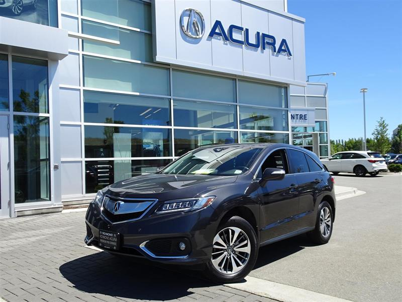 2016 Acura RDX Elite Acura Certified Local Car One Owner No Accid #937598A