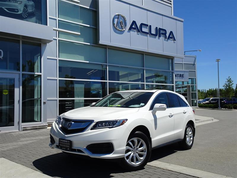 2017 Acura RDX Premium Acura Certified|Local Car|One Owner|Warran #P6249