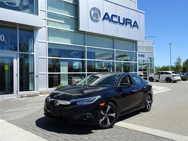 2016 Honda Civic Touring|Local Car|One Owner|Warranty til 2021 #P6252