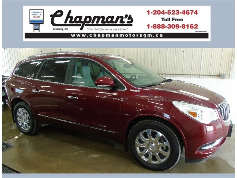 2016 Buick Enclave Premium AWD, Leather, Sunroof, Navigation #19-166A