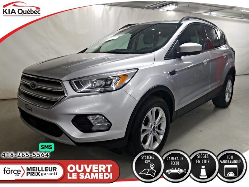 Ford Escape 2018 SEL* AWD* GPS* TOIT OUVRANT* CAMERA* BIZONE* #QU10812