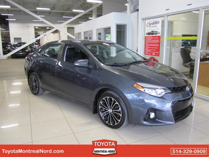 Toyota Corolla 2014 S + Toit + Mags+ Cuir #3677 AT