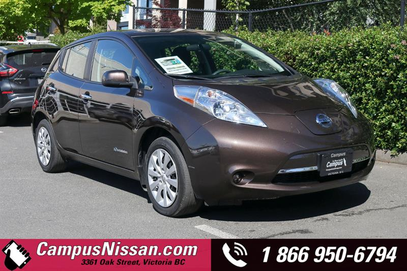 2016 Nissan Leaf | S | FWD w/ Quick-Charge #JN3286
