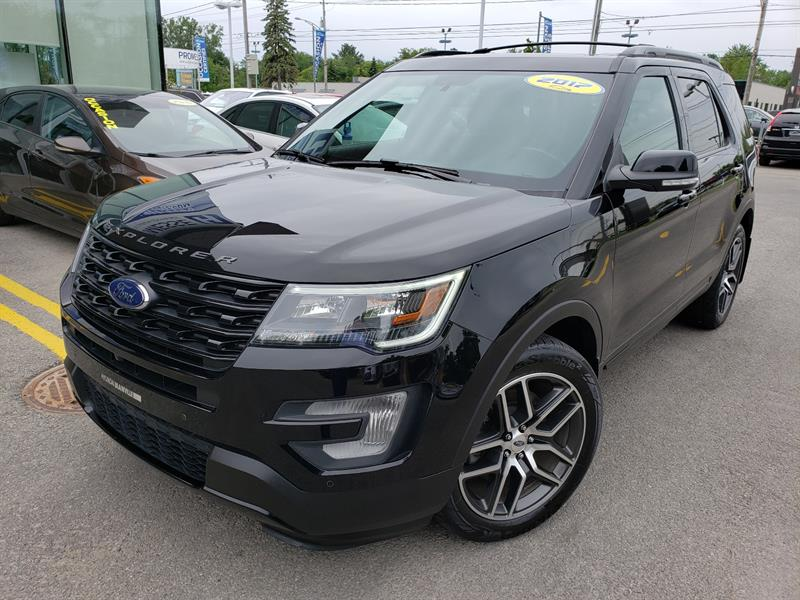 Ford Explorer 2017 SPORT 4WD 7 PASSAGERS,NAVIGATION+ #19407C