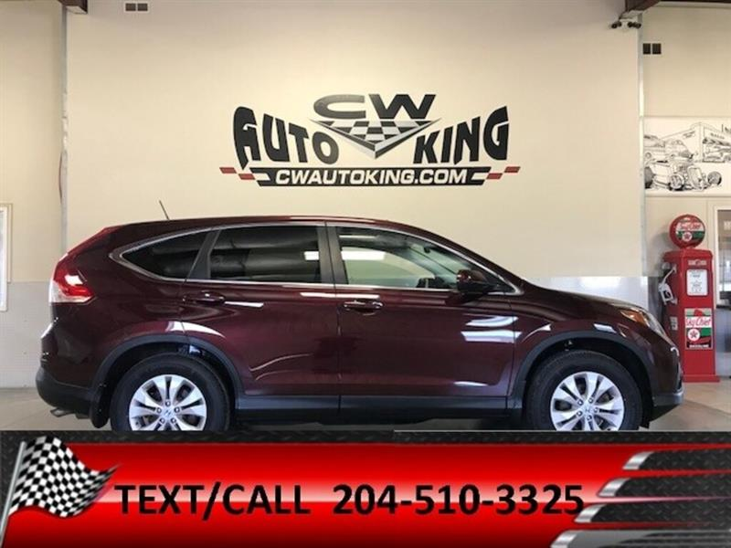 2014 Honda CR-V EX-L/AWD/Learher/Roof/Rear Cam/Bluetooth/Finance #20042435