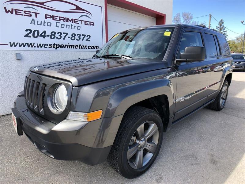 2015 Jeep Patriot High Altitude 4X4** Sunroof #5540