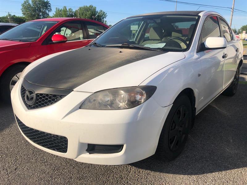 Mazda Mazda3 2008 GX *Ltd Avail*/GS *Ltd Avail*/GX/GS #MD1624A