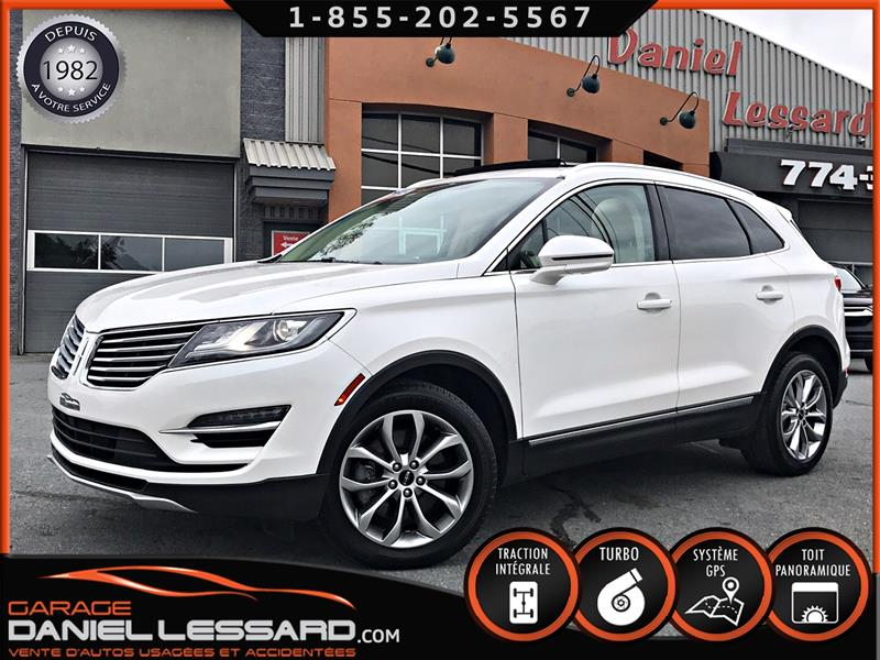 Lincoln MKC 2015 AWD 2.0 L ECOBOOST, GPS, TOIT PANO, CUIR, +++ !  #59380