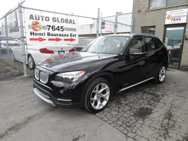BMW X1 2013 AWD 28i Cuir Toit Panoramique Mags 4 Portes #19-964