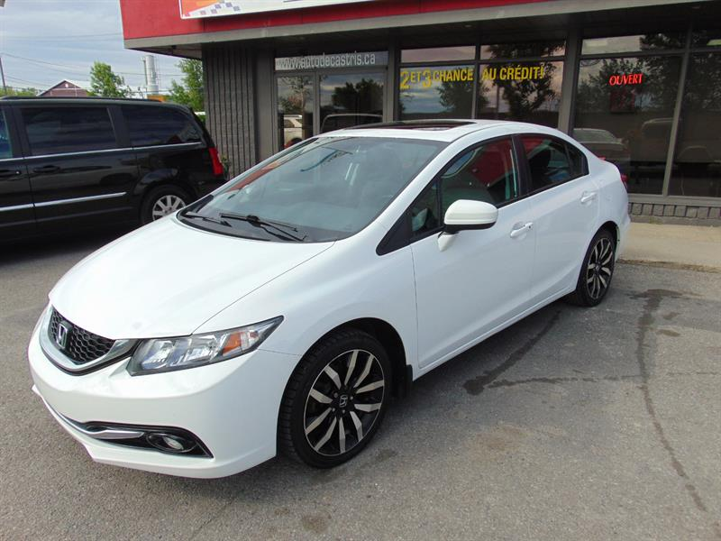 Honda Civic Sedan 2014 CVT Touring #EH018355
