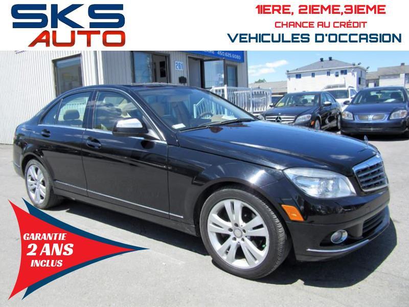 Mercedes-Benz C300 4matic 2008 (GARANTIE 2 ANS INCLUS) VEHICULE D'OCCASION #SKS-4393-2