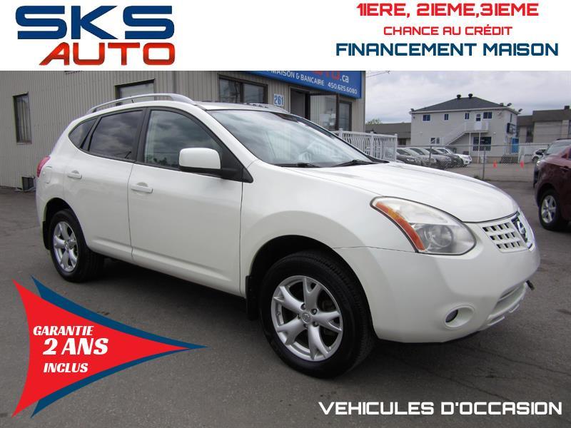 Nissan Rogue 2009 AWD (GARANTIE 2 ANS INCLUS) FINANCEMENT MAISON #SKS-4395-